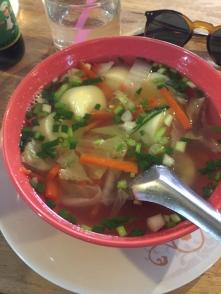 Seafood & veggie soup
