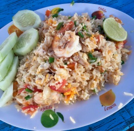 shrimp fried rice!